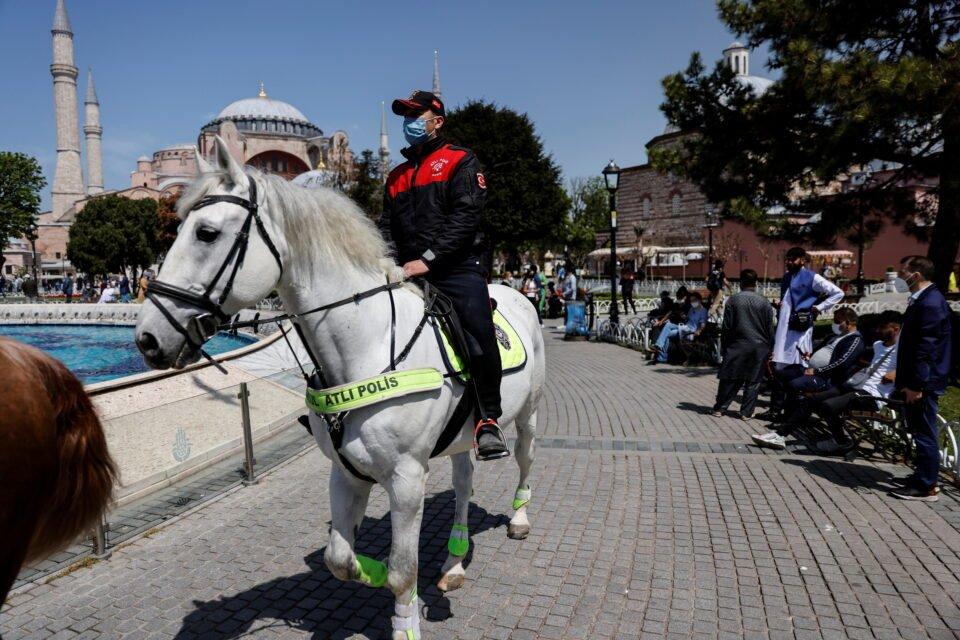 file photo: spread of the coronavirus disease (covid 19), in istanbul