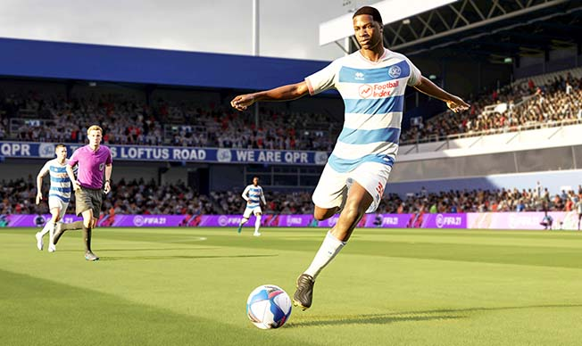 kiyan prince is seen in this fifa21 in game still
