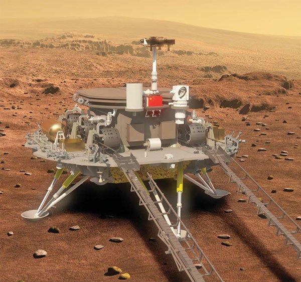 china's mars probe