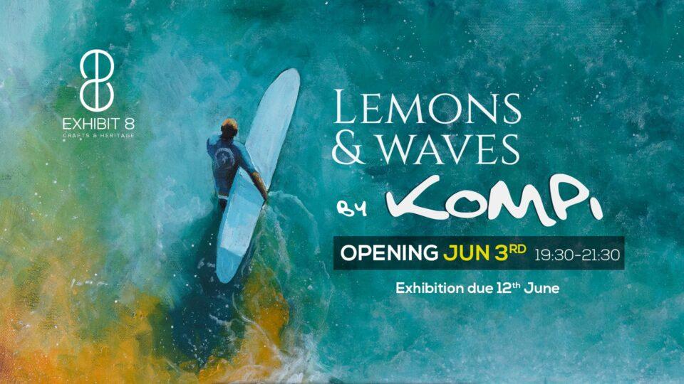 lemons & waves exhibition