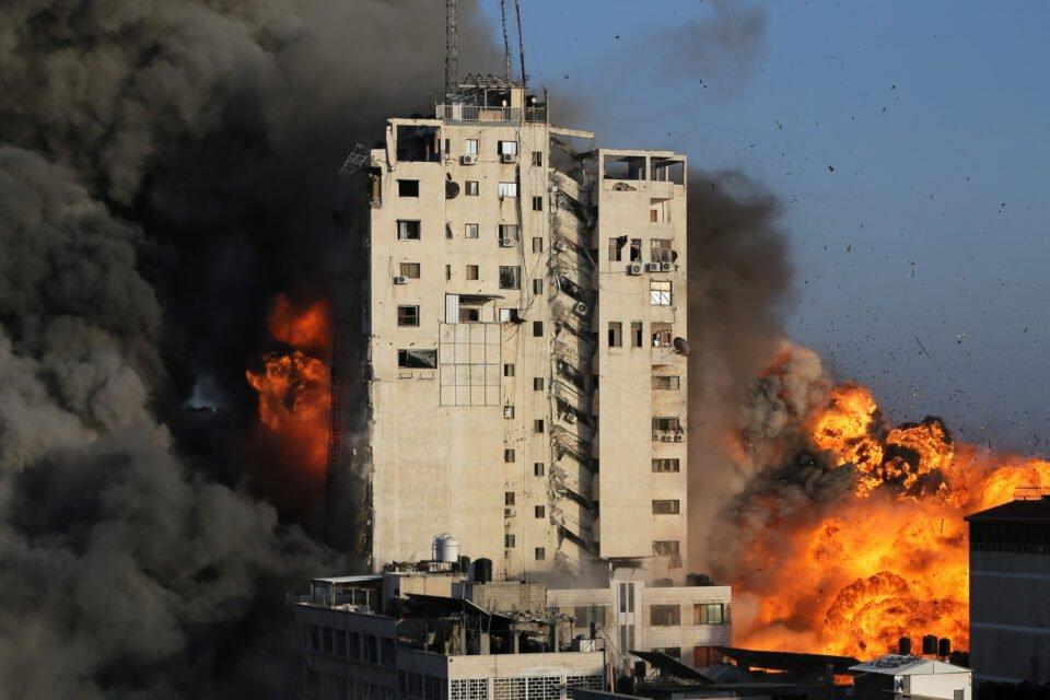 israeli palestinian violence flares up