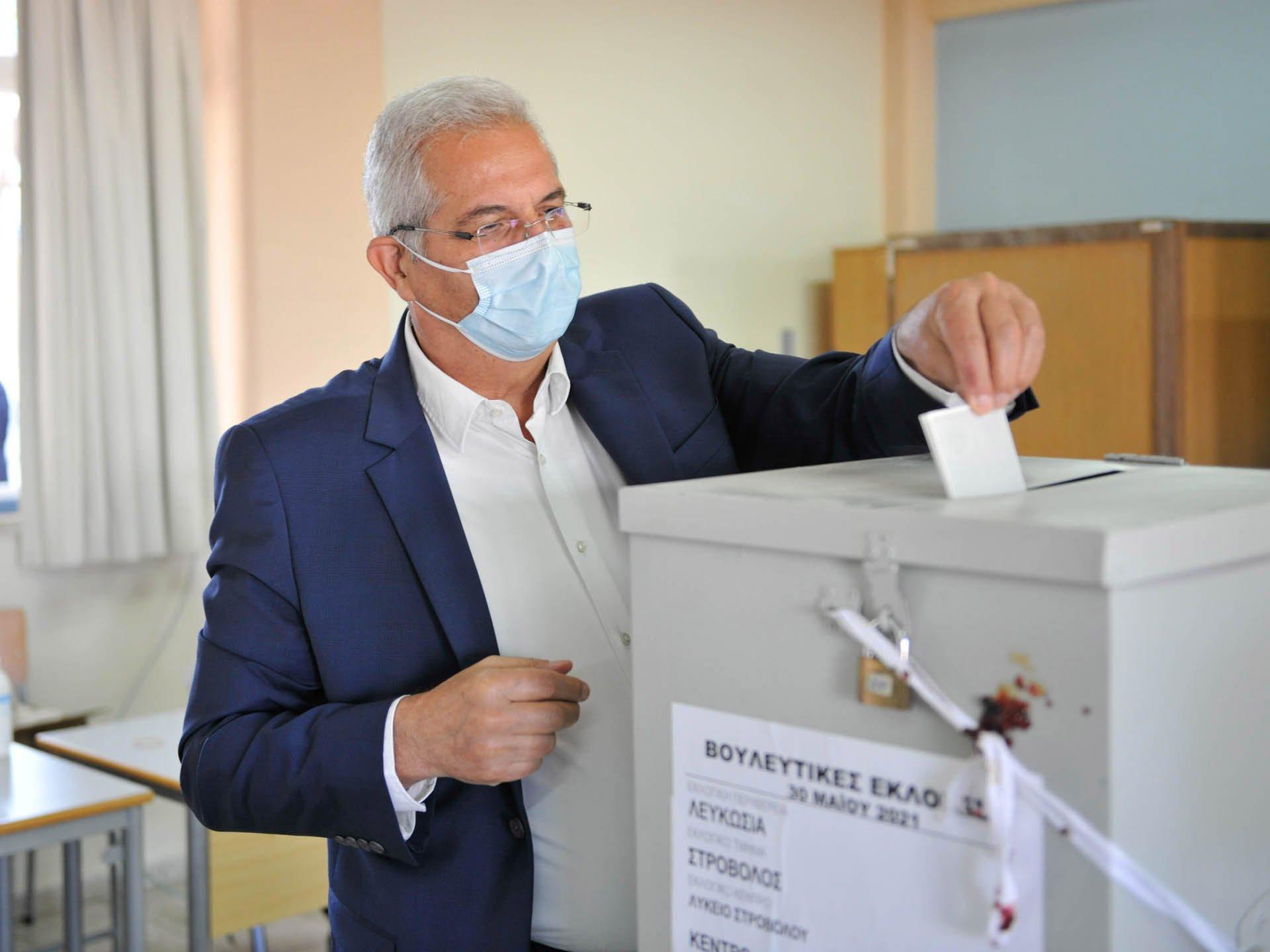 Γενικός Γραμματέας ΑΚΕΛ – Ψηφοφορ