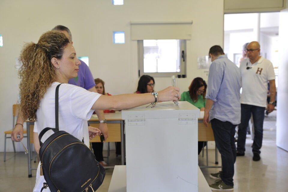 Ευρωεκλογές 2019 Ψηφοφορία στη Λευκω