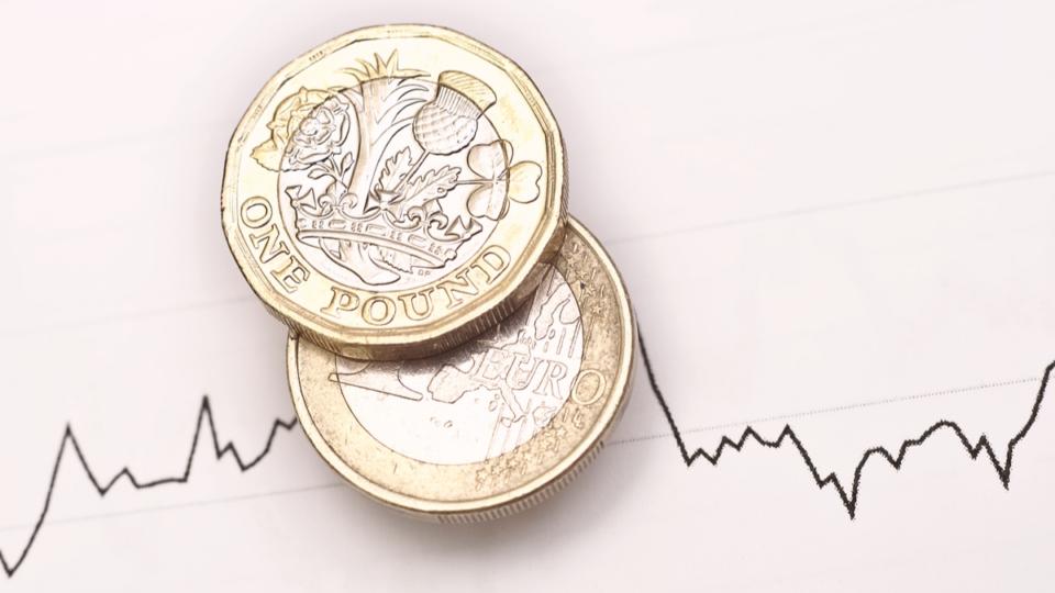 pound euro coins