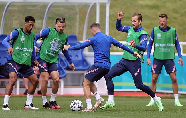 euro 2020 england training