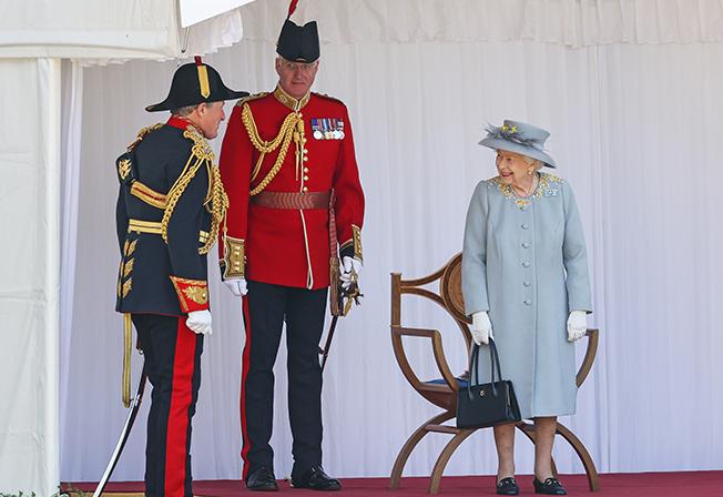 britain's queen elizabeth official birthday