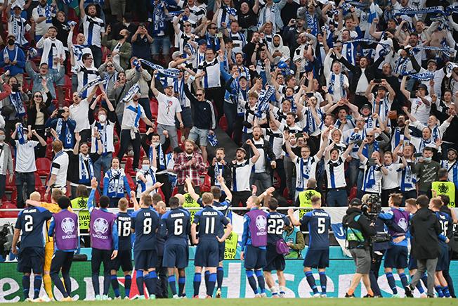 euro 2020 group b denmark v finland