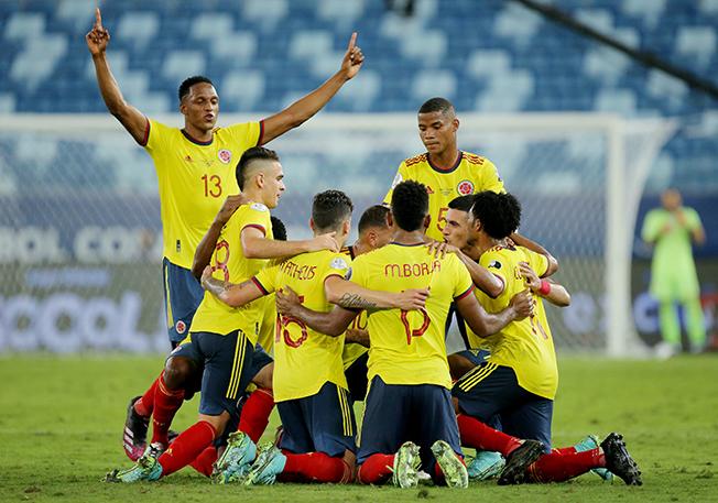 copa america 2021 group a colombia v ecuador