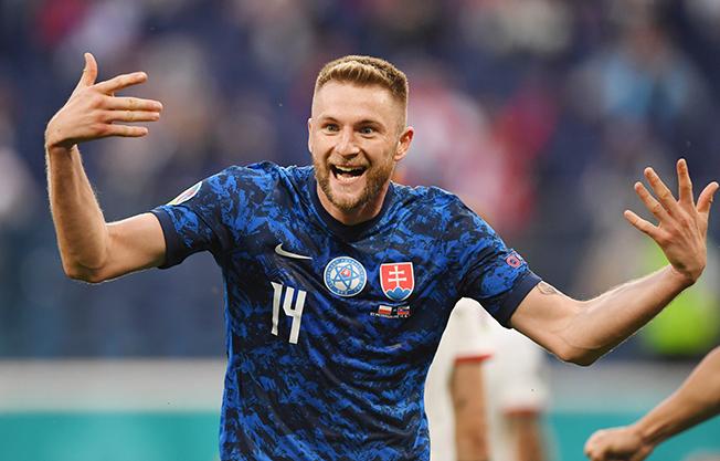 euro 2020 group e poland v slovakia