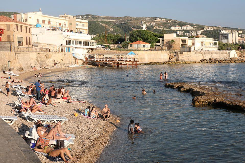 as lebanon battles crisis coastal city batroun thrives on local tourism