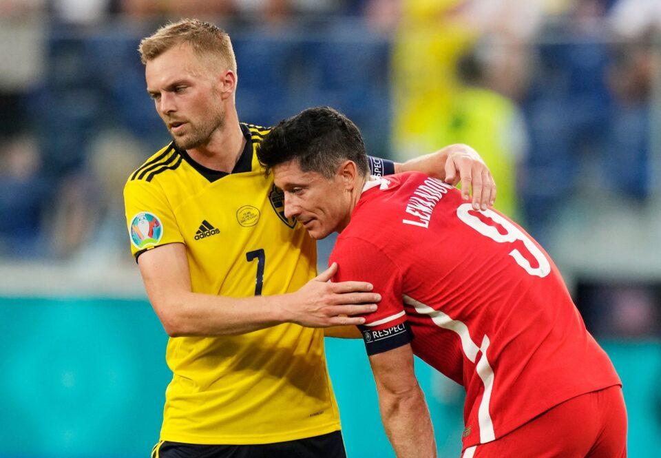 euro 2020 group e sweden v poland