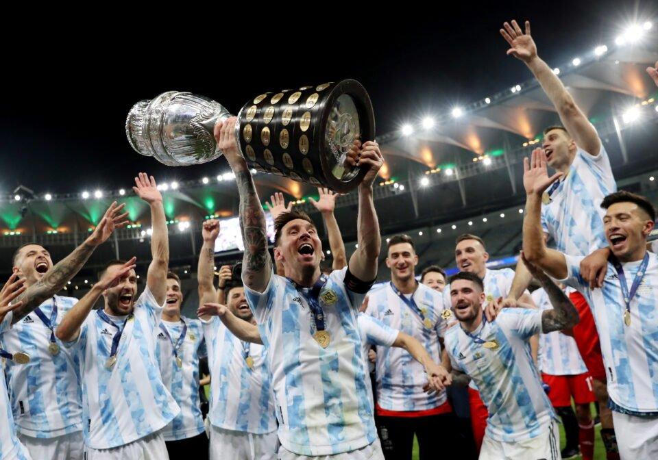 copa america 2021 final brazil v argentina