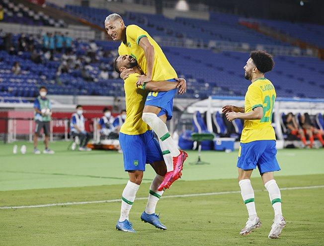 soccer football men group d brazil v germany