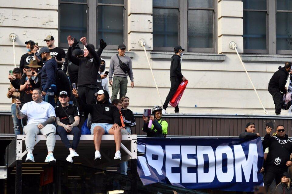 an anti lockdown rally in sydney as covid 19 outbreaks affect australia