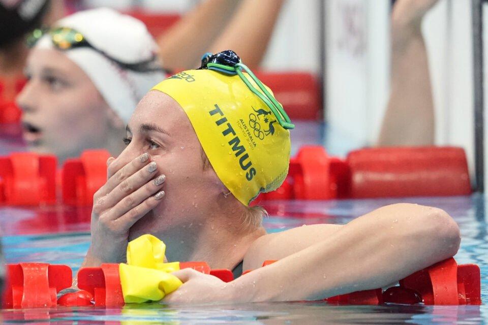 swimming women's 400m freestyle final