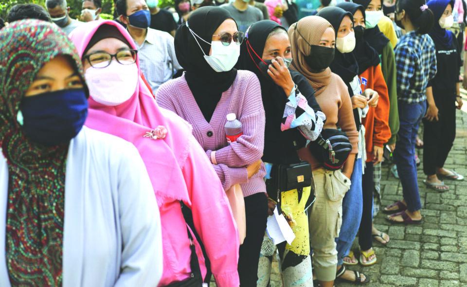mass vaccination program for coronavirus disease (covid 19) in jakarta