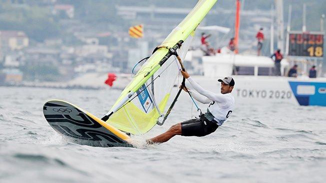sailing men's rs:x opening series
