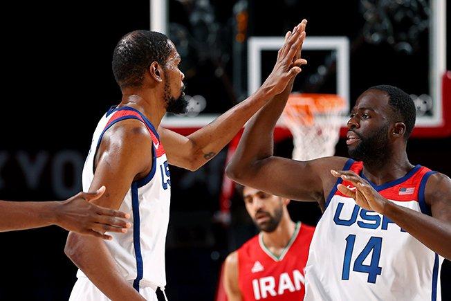basketball men group a united states v iran