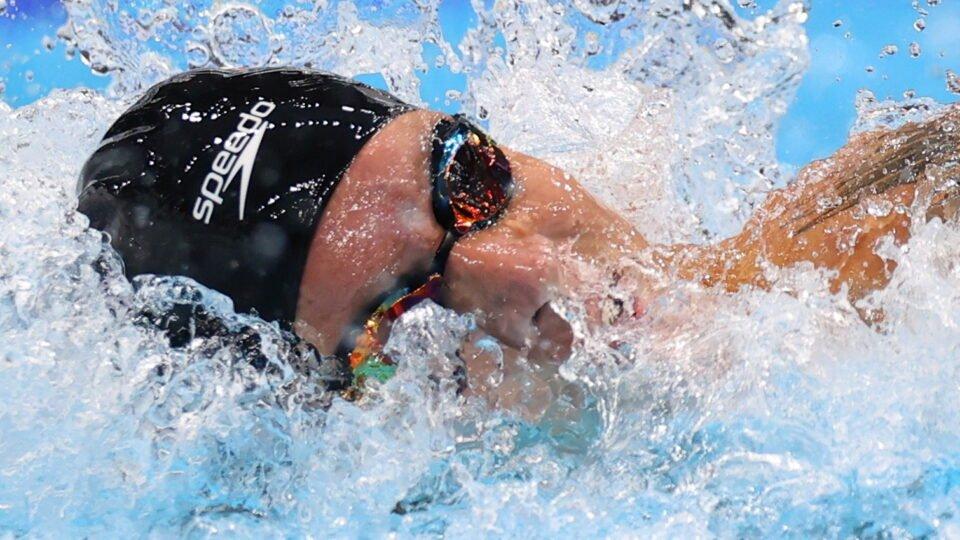 swimming men's 100m freestyle final