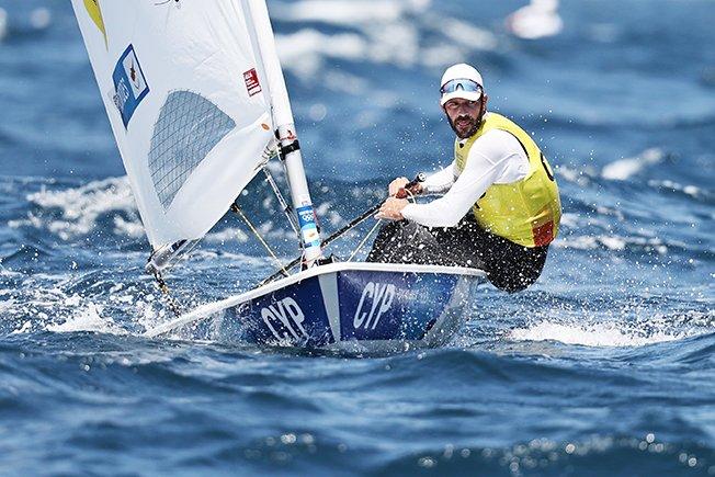 sailing men's laser opening series