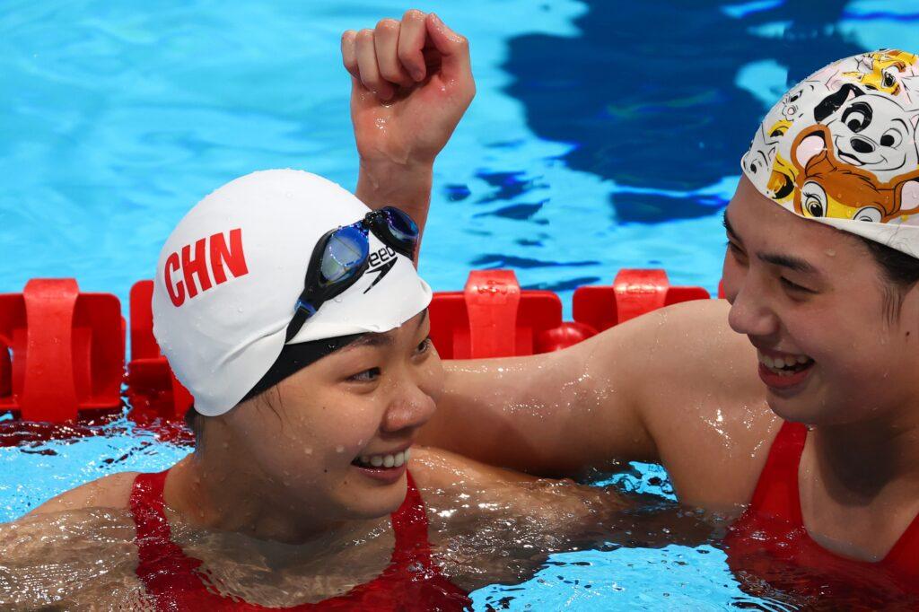 swimming women's 200m butterfly final