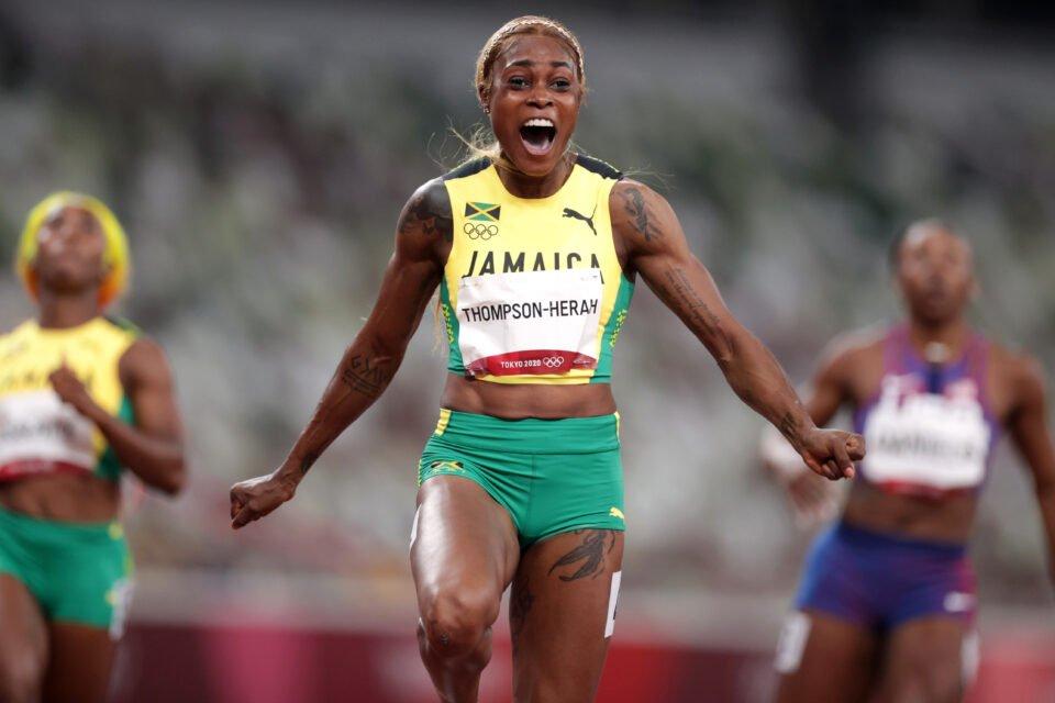 athletics women's 100m final