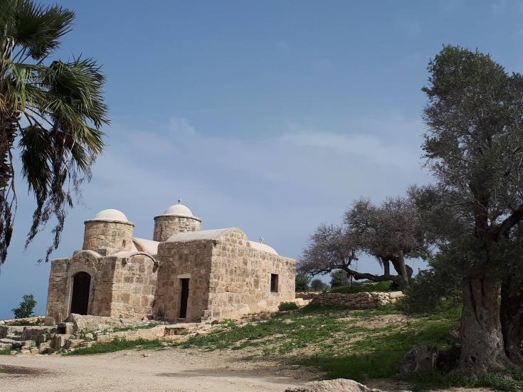 ayia marina chapel dherynia
