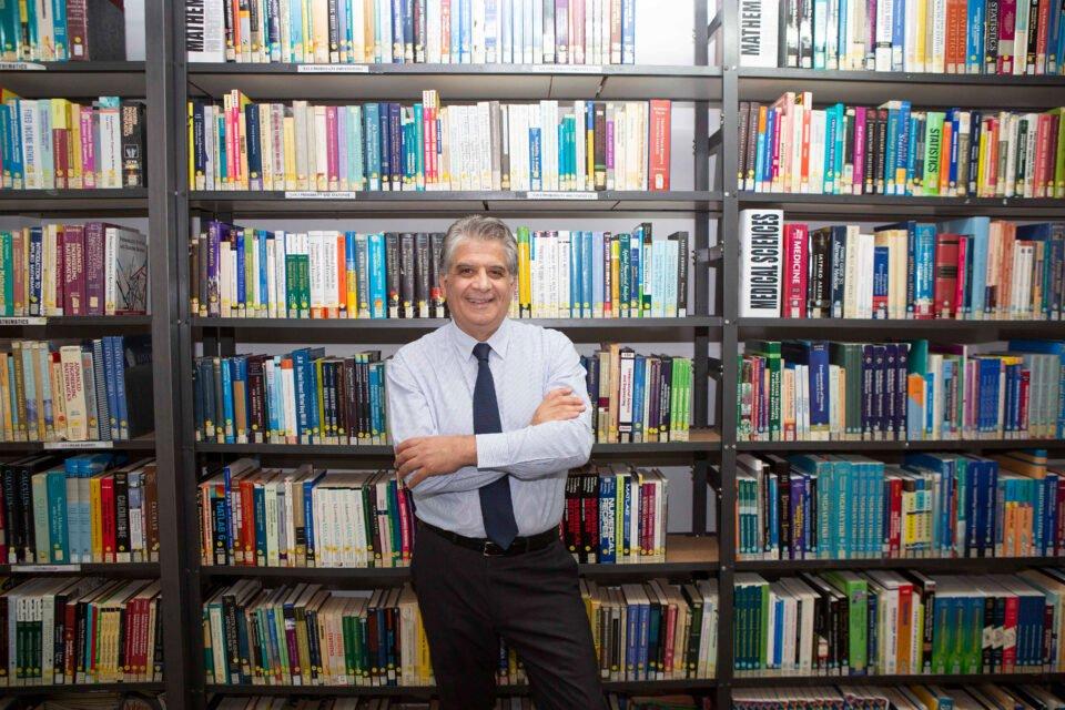 rector of frederick university, professor george demosthenous