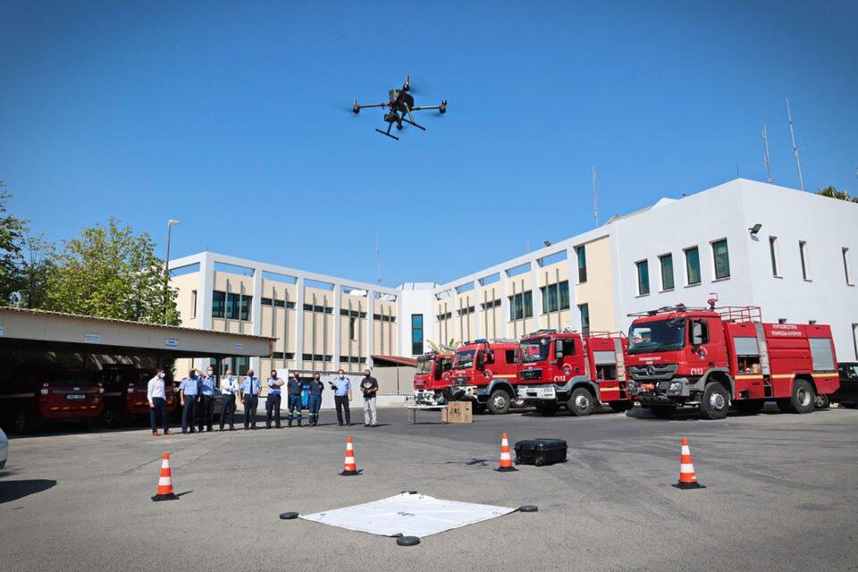 ΠΥΡΟΣΒΕΣΤΙΚΗ ΥΠΗΡΕΣΙΑ ΔΩΡΕΑ drones