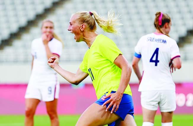 soccer football women group g sweden v united states