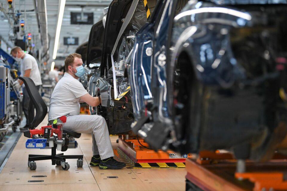 germany auto production