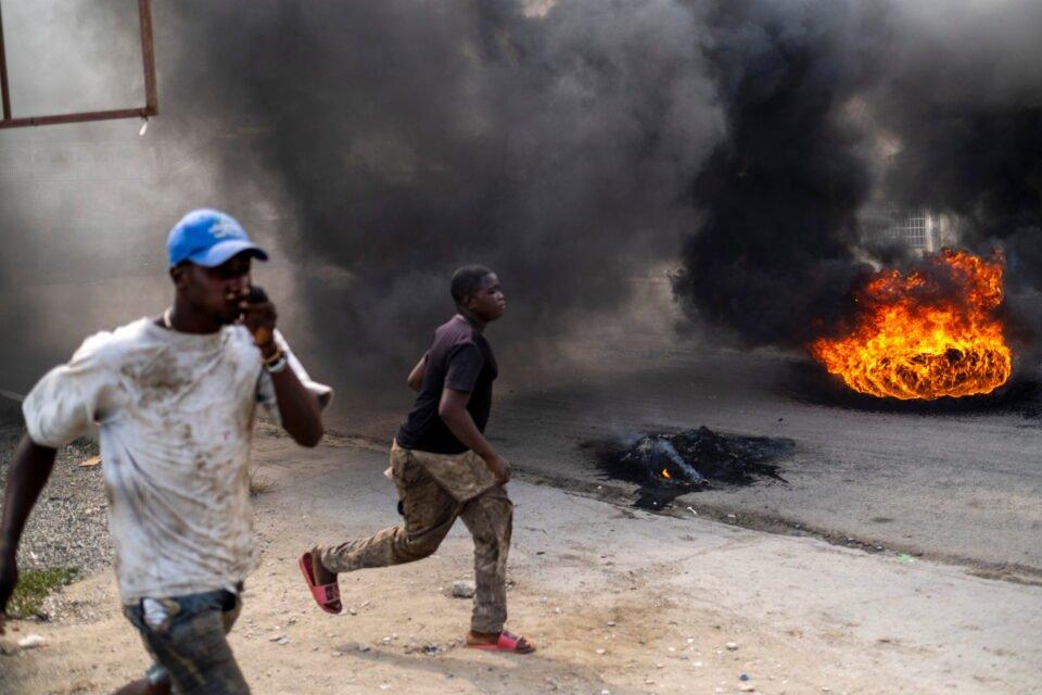 protest against moise assassination in cap haitien