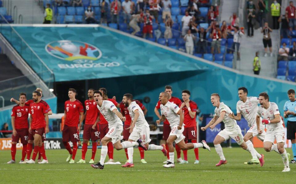 euro 2020 quarter final switzerland v spain
