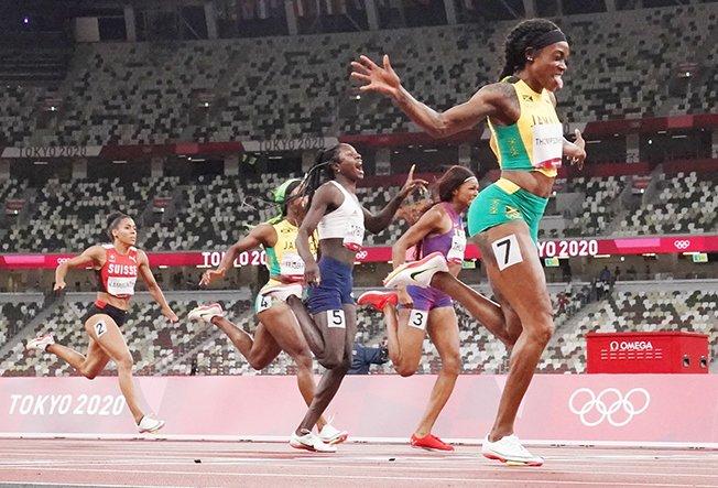 athletics women's 200m final