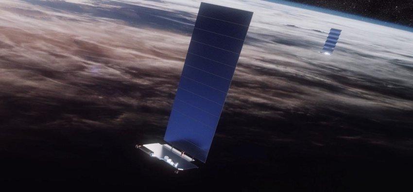 starlink low earth satellite