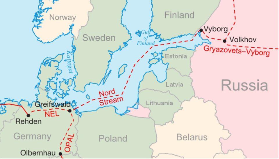 nord stream map good