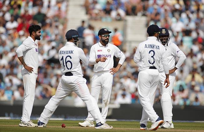 fourth test england v india