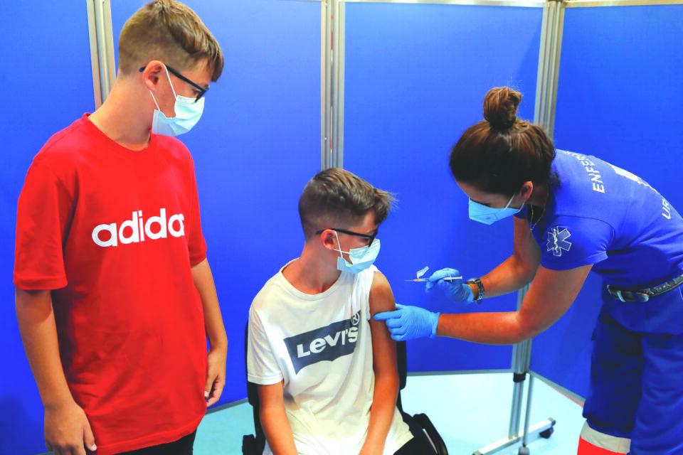 file photo: coronavirus disease (covid 19) vaccination campaign in ronda