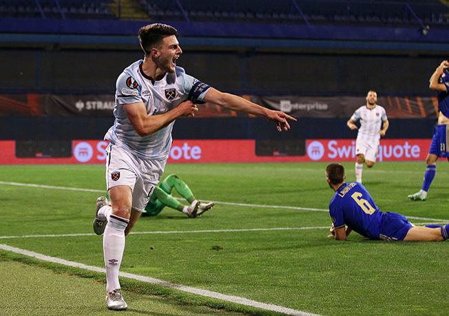 europa league group h dinamo zagreb v west ham united
