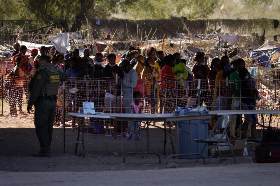 migrants in del rio, texas