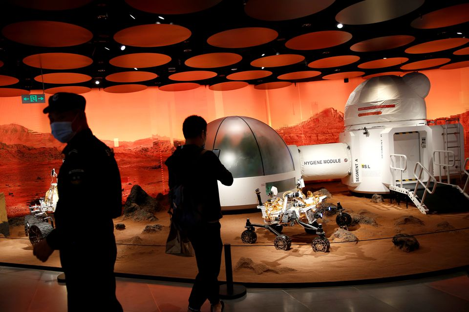 reuters china mars helicopter
