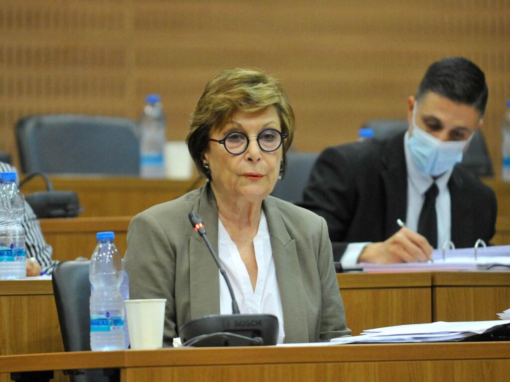 Υπουργός Δικαιοσύνης – Κοινοβουλε
