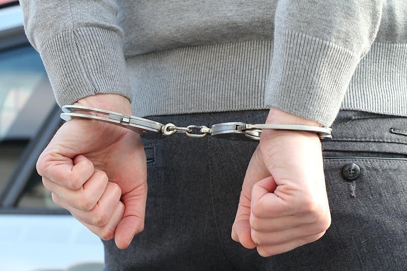 handcuffs woman