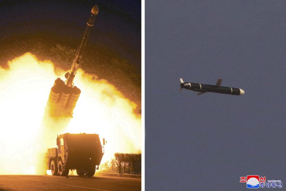 file photo: north korea test fires long range cruise missile